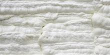 close up spray foam insulation