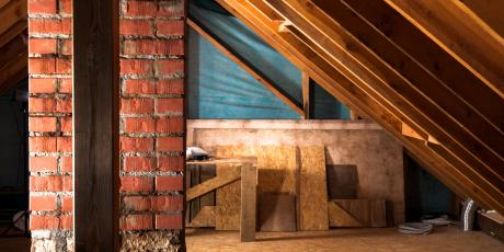 attic Texas Hill Country Insulation