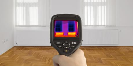 infrared camera view Hill Country Insulation